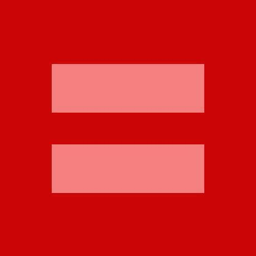red equals sign